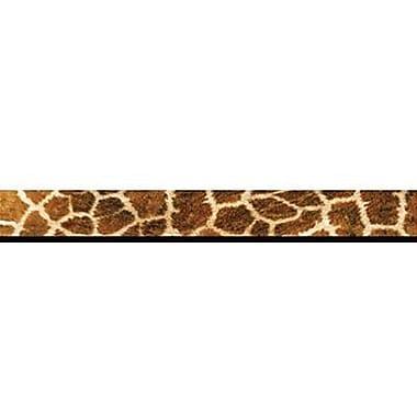 Trend Enterprises® Pre-kindergarten - 9th Grades Scalloped Terrific Trimmer, Giraffe Print