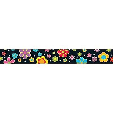 Trend Enterprises® pre-kindergarten - 9th Grades Scalloped Bulletin Board Trim, Colorful Flower