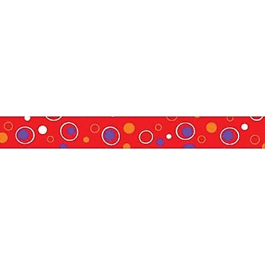 Trend Enterprises® Pre Kindergarten - 9th Grades Scalloped Terrific Trimmer, Red Fizz