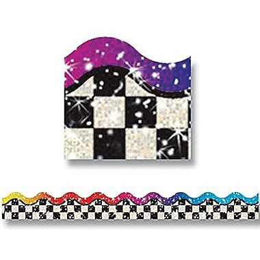 Trend Enterprises® pre-kindergarten - 5th Grades Bolder Border, Rainbow Sparkle