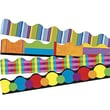 Trend Enterprises® pre-kindergarten - 9th Grades Scalloped Terrific Trimmer, Color Collage