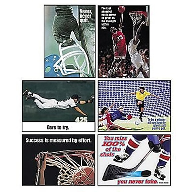 Trend Enterprises® ARGUS® Poster Combo Pack, Sports Motivating Poster Pack