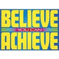 Trend Enterprises® ARGUS® Poster, Believe You Can Achieve