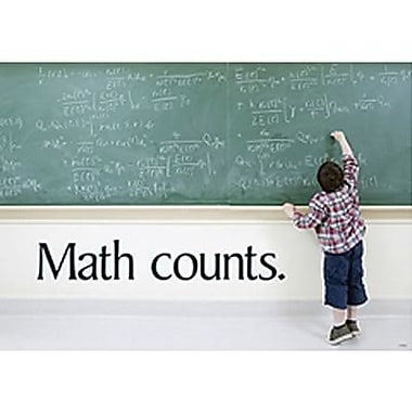 Trend Enterprises® ARGUS® Poster, Math Counts