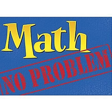 Trend Enterprises® ARGUS® Poster, Math - No Problem