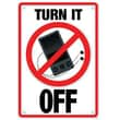 Trend Enterprises® ARGUS® Poster, Turn It Off (MP3)