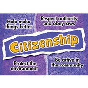 Trend Enterprises® ARGUS® Poster, Citizenship