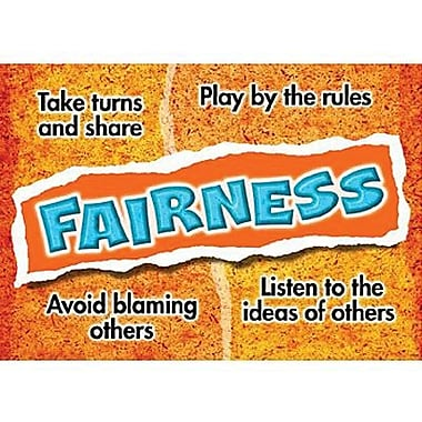 Trend Enterprises® ARGUS® Poster, Fairness