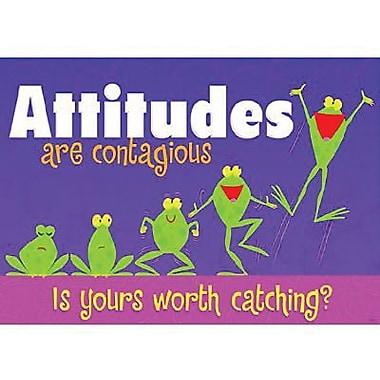 Trend Enterprises® ARGUS® Poster, Attitudes Are Contagious