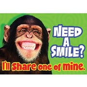 Trend Enterprises® ARGUS® Poster, Need A Smile I'll Share One