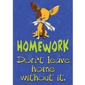 Trend Enterprises® ARGUS® Poster, Homework: Don't Leave Home