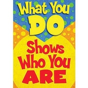 Trend Enterprises® ARGUS® Poster, What You Do Shows Who You Are