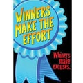 Trend Enterprises® ARGUS® Poster, Winners Make The Effort