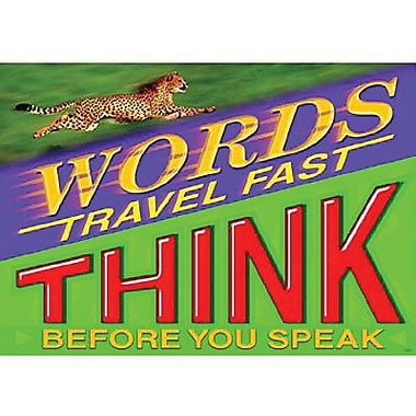 Trend Enterprises® ARGUS® Poster, Words Travel Fast