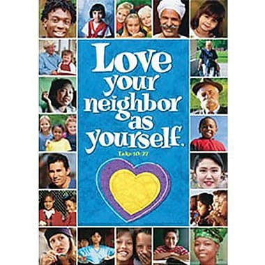 Trend Enterprises® ARGUS® Poster, Love Your Neighbor As Yourself