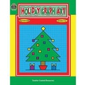 Teacher Created Resources® Holiday Graph Art Book, Grades 2nd - 6th