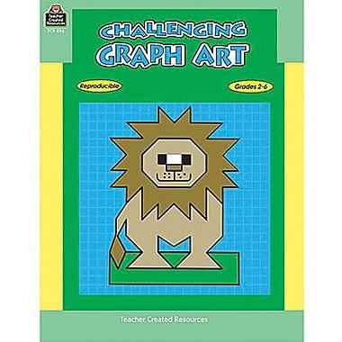 Teacher Created Resources® Challenging Graph Art Book, Grades 2nd - 6th