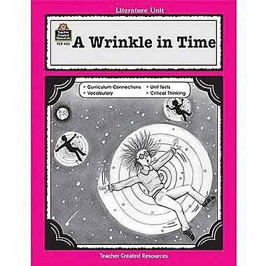 Teacher Created Resources® Using A Wrinkle In Time In The Classroom Guide, Grades 3rd - 5th