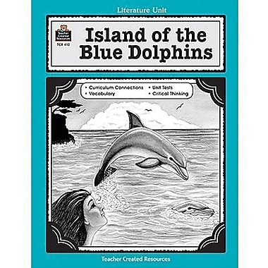 Teacher Created Resources® Using Island of The Blue Dolphins Guide, Grades 3rd - 5th