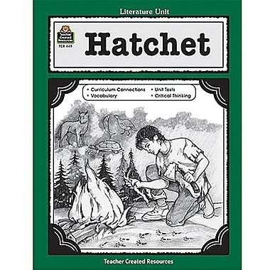Teacher Created Resources® Using Hatchet In The Classroom Guide, Grades 5th - 8th