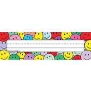 Teacher Created Resources® Infant - 6th Grades Name Plate, Smiley Faces