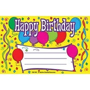 Teacher Created Resources® Happy Birthday Awards