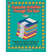 Teacher Created Resources® Computer Activities Through The Year Book, Grades 4th - 8th