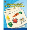Teacher Created Resources® Listening Skills For Young Children Resource Book, Grades pre-school-1st