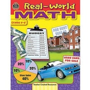 Teacher Created Resources® Real-World Math Book, Grades 5th - 8th