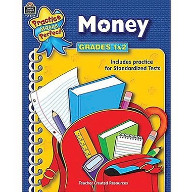 Teacher Created Resources® Practice Makes Perfect Series Money Book, Grades 1st - 2nd
