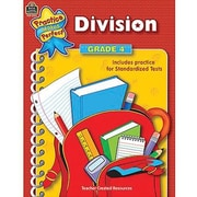 Teacher Created Resources® Practice Makes Perfect Series Division Book, Grades 4th