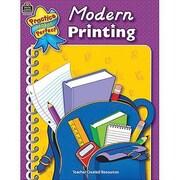 Teacher Created Resources® Practice Makes Perfect Modern Printing Book, Grades Kindergarten - 2nd
