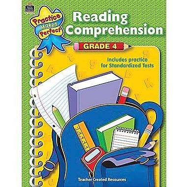 Teacher Created Resources® Practice Makes Perfect Reading Comprehension Book, Grades 4th