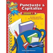 Teacher Created Resources® Punctuate and Capitalize Book, Grades 1st