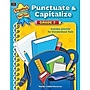 Teacher Created Resources Punctuate And Capitalize Book, Grades