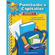 Teacher Created Resources® Punctuate and Capitalize Book, Grades 2nd