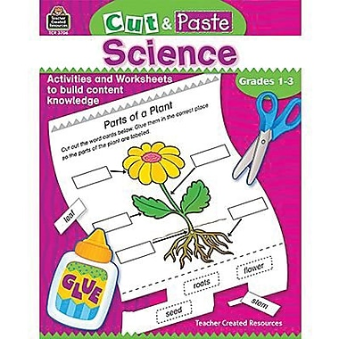 Teacher Created Resources® Word Game, Cut and Paste