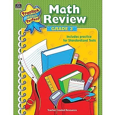 Teacher Created Resources® Practice Makes Perfect Series Math Review Book, Grades 3rd