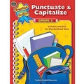 Teacher Created Resources® Practice Makes Perfect Punctuate and Capitalize Book, Grades 3rd