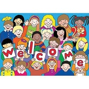 Teacher Created Resources® Kid's Welcome Postcard