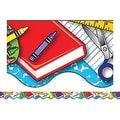 Teacher Created Resources® pre-school-6th Grades Scalloped Bulletin Board Border Trim, School Tools