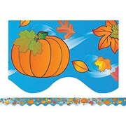 "Teacher Created Resources TCR4127 35"" x 2.187"" Scalloped Nature Border Trim, Multicolor"