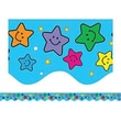 Teacher Created Resources® Toddler - 8th Grades Scalloped Bulletin Board Border Trim, Happy Stars
