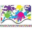 "Teacher Created Resources TCR4138 35"" x 2.187"" Scalloped Helping Hands Border Trim, Multicolor"