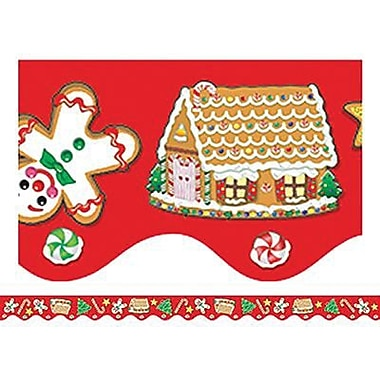 Teacher Created Resources® Scalloped Border Trim, Christmas