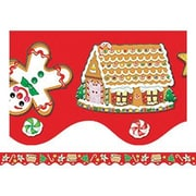 "Teacher Created Resources TCR4157 35"" x 2.187"" Scalloped Christmas Border Trim, Multicolor"