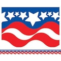 Teacher Created Resources® Infant - 12th Grades Scalloped Bulletin Board Border Trim, Patriotic