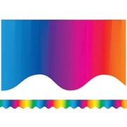 "Teacher Created Resources TCR4177 35"" x 2.187"" Scalloped Multicolor Border Trim, Multicolor"