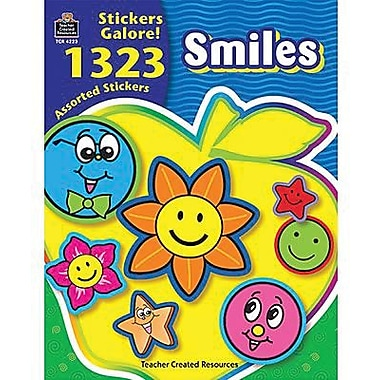Teacher Created Resources® Stickers Book, Smiles