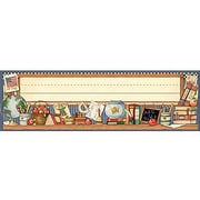 Teacher Created Resources® pre-school - 6th Grades Name Plate, School Time From Susan Winget